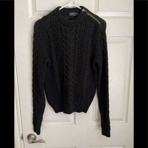 Polo Ralph Lauren chunky cable knit sweater